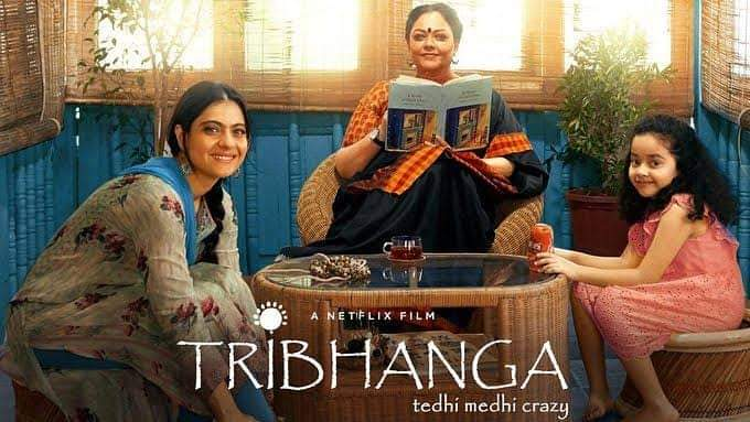 Peace, pardon, passion, perspective..... Better to understand the spectrum of these simple yet complicated intangibles in the present than seek them as solace or offer them as tribute posthumously. Tribhanga - the movie ..must watch Streaming on Netflix... #Tribhanga @renukash
