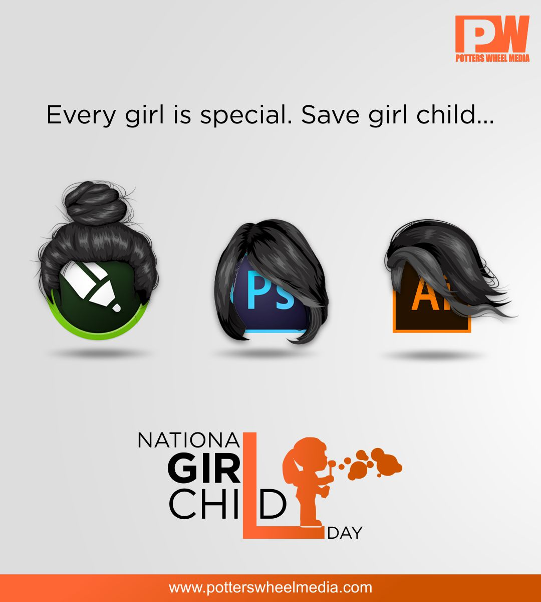 May we know her, teach her and empower her.Happy National Girl Child Day wishes from Potters Wheel...  #girlchild #womenempowerment #education #india #girlchildeducation #girl #women #girlpower #children #support #girls  #girlchildempowerment #inspiration #girleducation