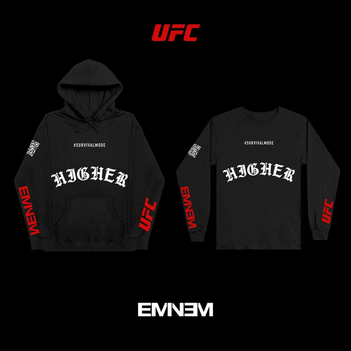 #SURVIVALMODE #HIGHER @UFC Official Limited Edition Collab -