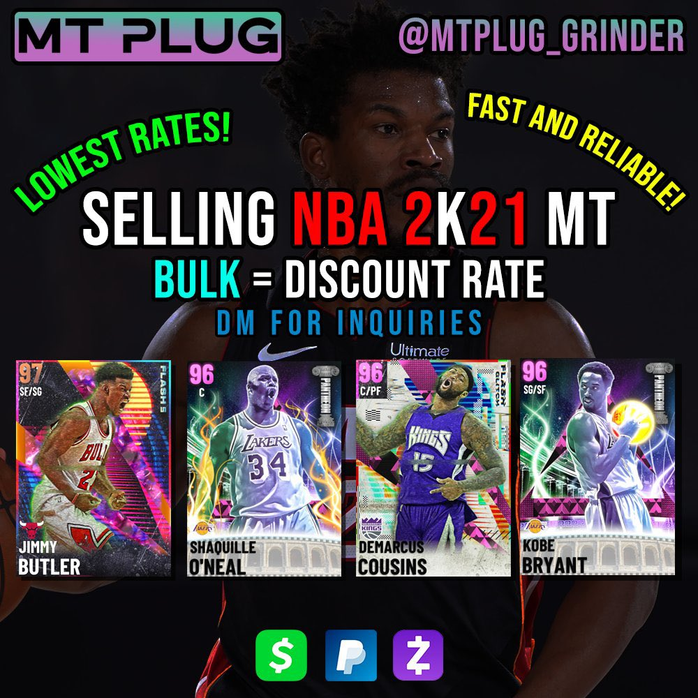 "500k MT GIVEAWAY  5x 100k MT OR 10$ WINNERS  •FOLLOW @mtplug_grinder   •LIKE/RT AND FOLLOW  •COMMENT ""DONE""  •PICKING WINNERS JAN 30TH 8 PM EST  I AM BUYING AND SELLING ALL AMOUNTS OF MT AT GOOD RATES I ALSO PROVIDE GRINDING SERVICES FOR MYTEAM AND MYPLAYER BADGES"