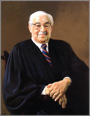 #OTD January 24, 1993, Justice Thurgood Marshall died.    Appointed to the Supreme Court by President Lyndon Johnson in 1967, he retired in 1991.   Justice Marshall had a long career in civil rights law before joining the Court.   #scotushistory