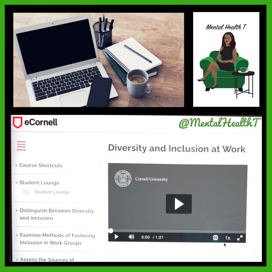 Diversity & Inclusion needs to be something that every employee has a stake in. Don't just talk about it, Be About It! 🖤✨ #ChangeAgent  💚 Stay Focused On Your Journey! 💚 #MentalHealthT #SocialWorker #BlackMentalHealthMatters #MentalHealth #MentalHealthMatters #Diversity