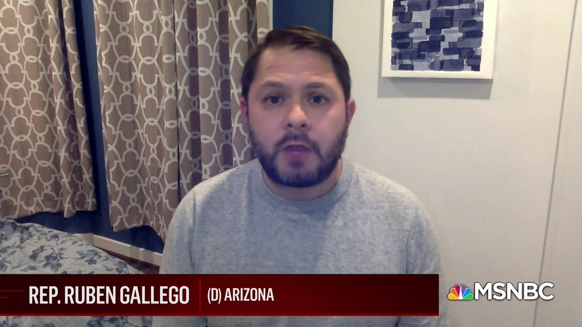 Replying to @TheWeekMSNBC: .@RepRubenGallego on where he sees immigration legislation going under the Biden Administration: