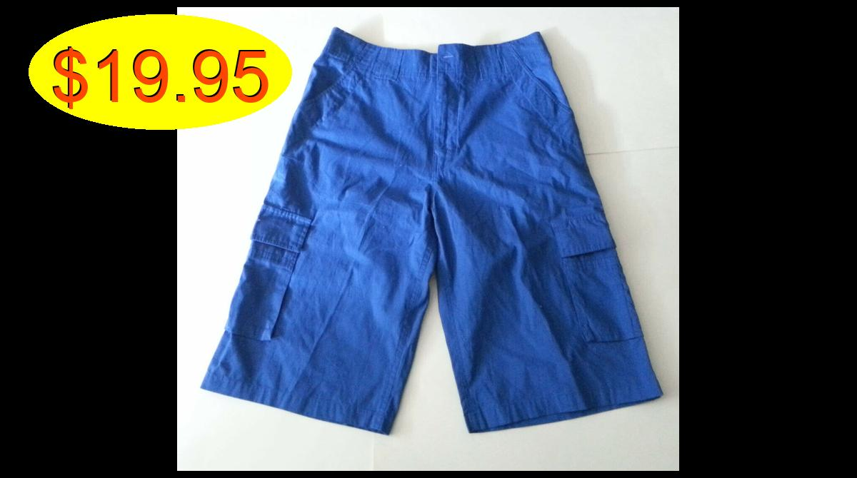 #Rocawear Men #shorts Size 30 Blue 14 inseam