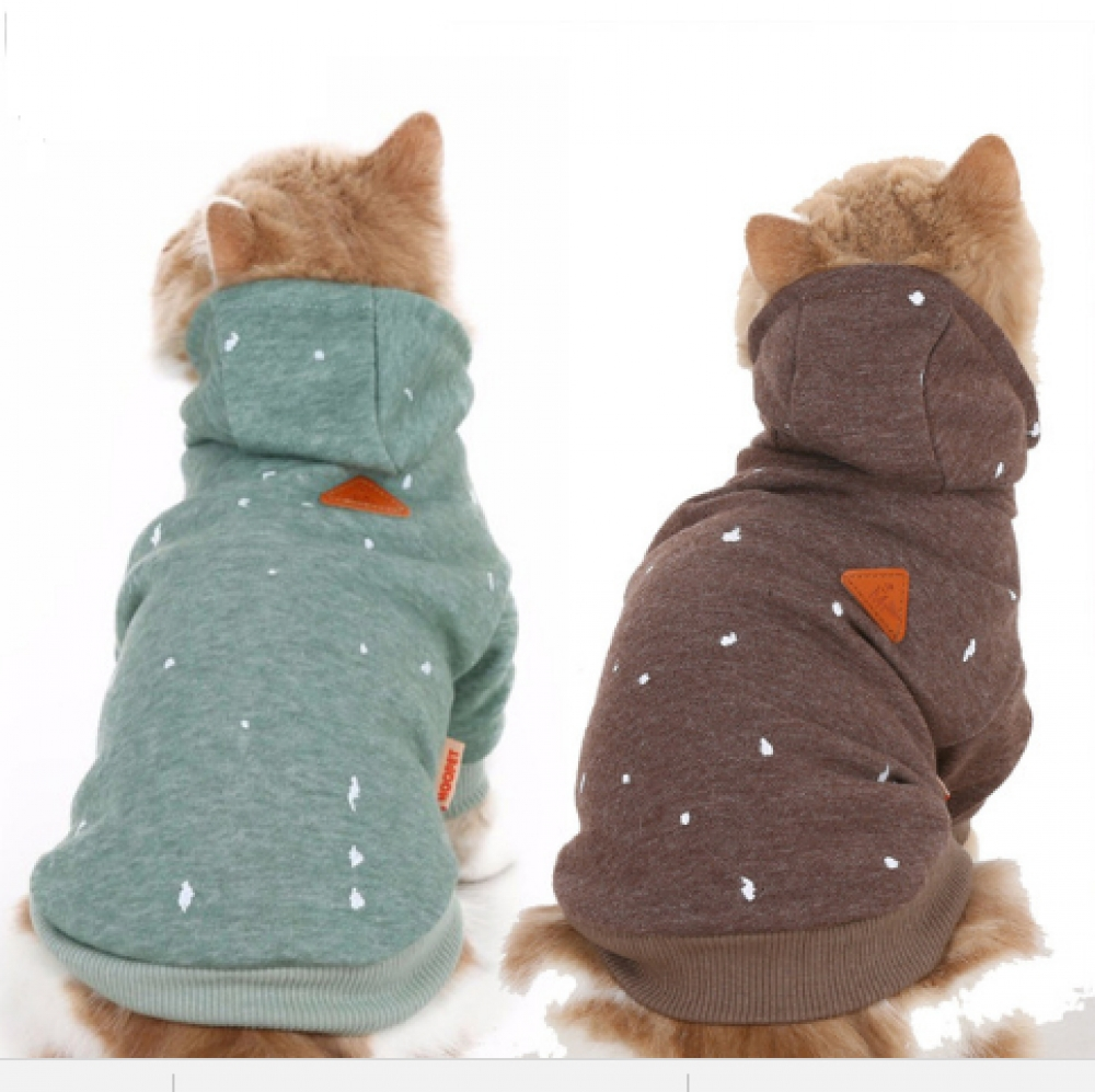 Warm Hoodies for Small Pet #cats #animals