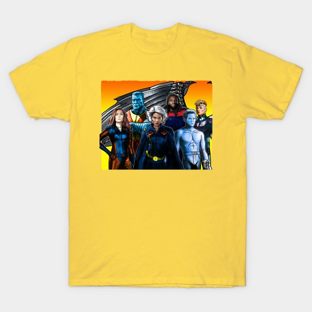 The X-MEN GOLD TEAM is on my @TeePublic store! Go grab yourself those merch and represent out loud!   ⭐☮️❤️  #TeePublic #Shirts #MARVEL #XMen #DigitalArt #DigitalDrawing  #MoiMagnum® #Reanimations™ ©2021