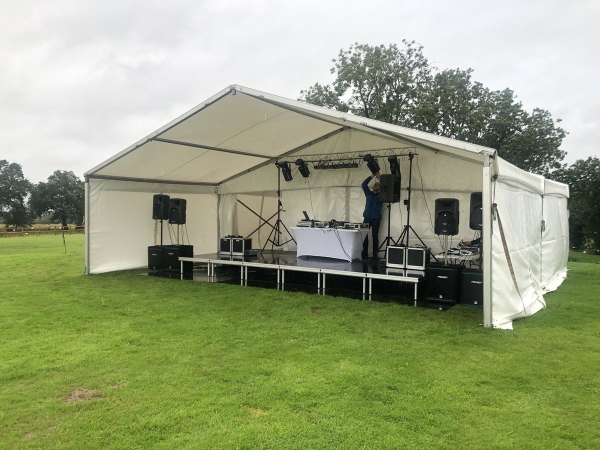 So the weather outside is frightful! (I almost burst in to song!) So let's look forward to happier days to come and start to plan for #weddings #events #shows ... providing #marquees #stage #sound #lighting #toilets #generators #powerdistribution #fridgetrailer #bars #dancefloors