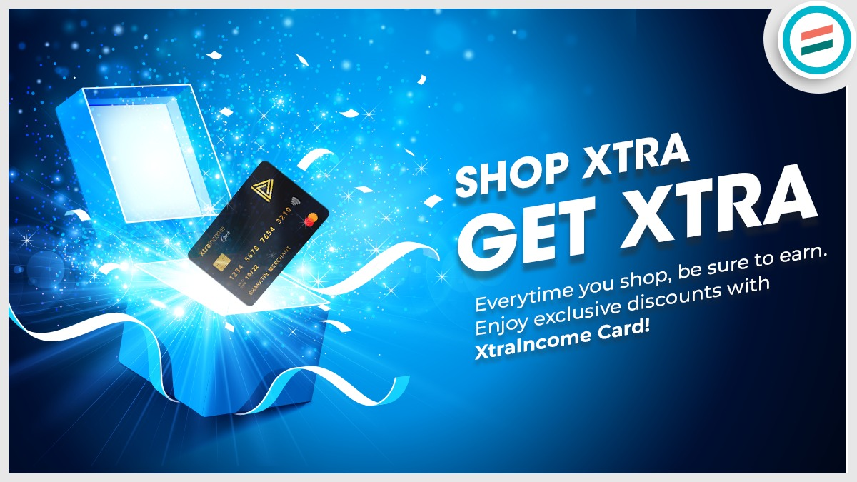 Earn guaranteed cashback every time you shop with XtraIncome card and get unlimited rewards.  Buy Now -->   #XtraIncomecard #cashback #Rewards #UPI #fintech #BharatPeLagaoDhandaBadhao