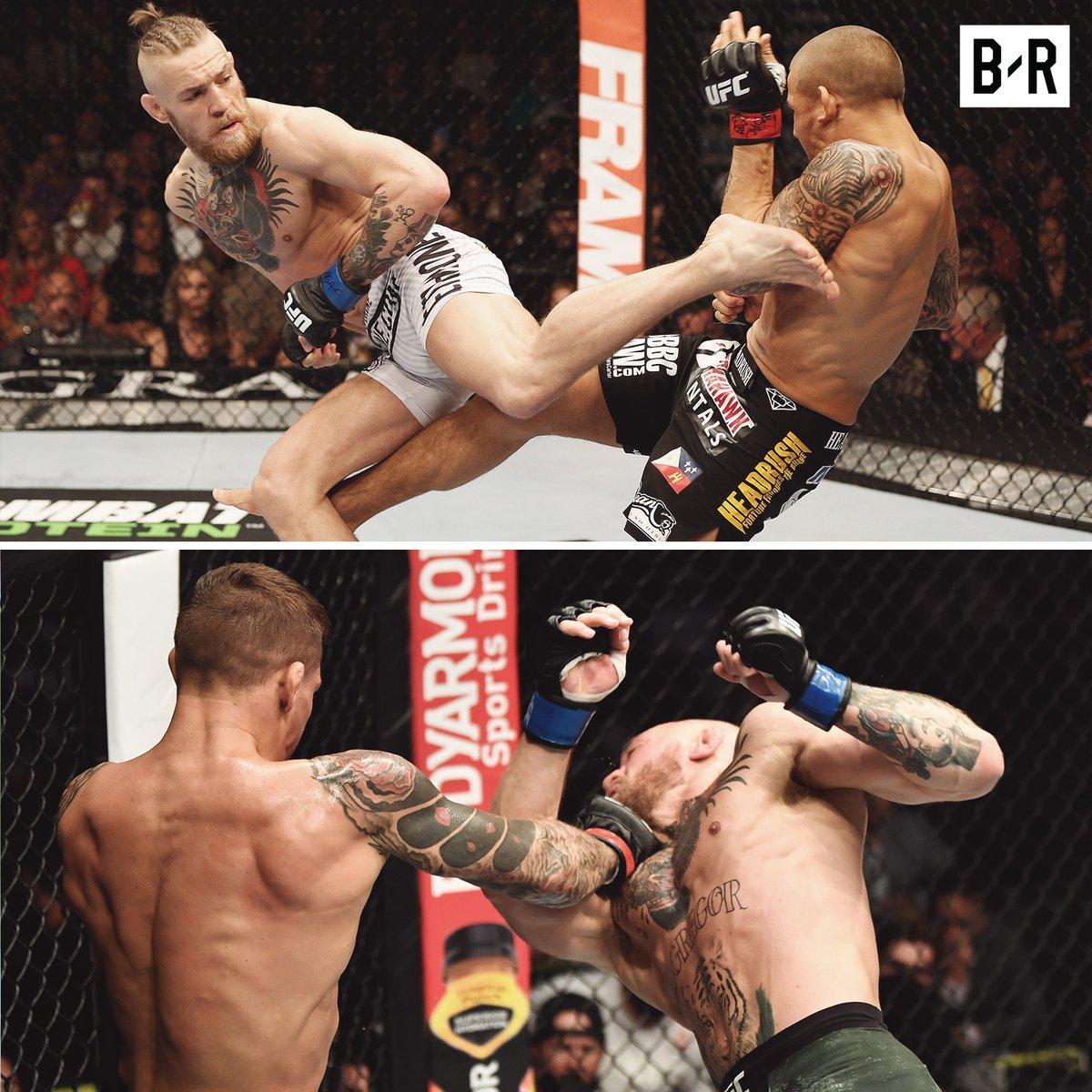 "@TheNotoriousMMA  in 2016:""gods recognize gods "" #Dustin  @DustinPoirier Debt fuly paid😂🔥 #McGregor #UFCFightIsland"