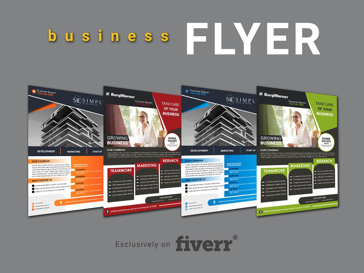 I'm providing professional Business Flyer design for your business    Please Contact here  :    #Flyers #Fiverr #logodesign #banner #poster #branding #DigitalMarketing #flyerdesign #graphicdesigner #Logodesigner #SundayMorning #UFC257 #UFCFightIsland