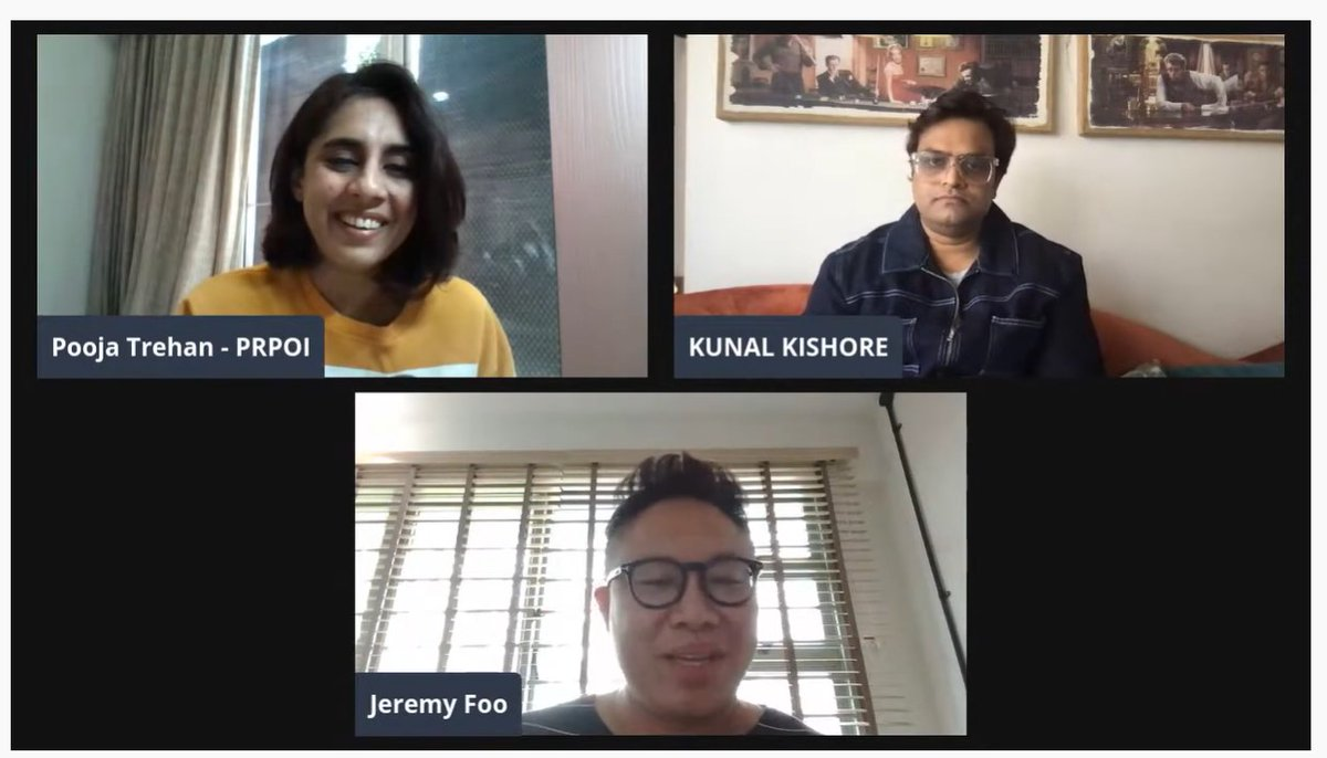 This weekend catchup on the #StartupPR discussion with  @KunalKishore24 & @Jerfoo as they give you an insiders view on it :     Media Partner: @admediainsider  Industry Partner: @PRBoutiquesIntl  Content Curators : @PoojaBD @mindtweak123  @SokhalSonali