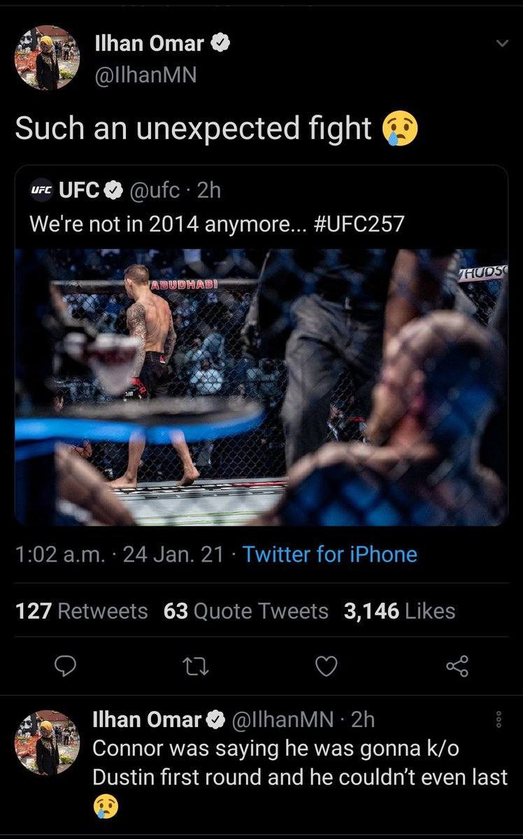 [What is happening…?] #UFC #UFC257