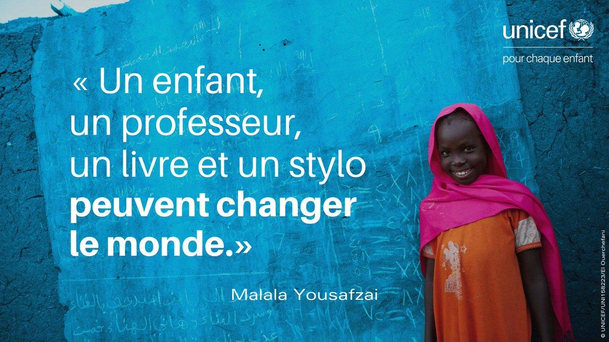 Aujourd'hui, c'est la #JournéeDelÉducation ! 📚  Chaque enfant a droit à une #éducation. Pourtant, 58 millions d'enfants dans le monde n'accèdent pas à l'école primaire et des millions d'autres sont privés de collège.   Nous pouvons changer cela ! 👉