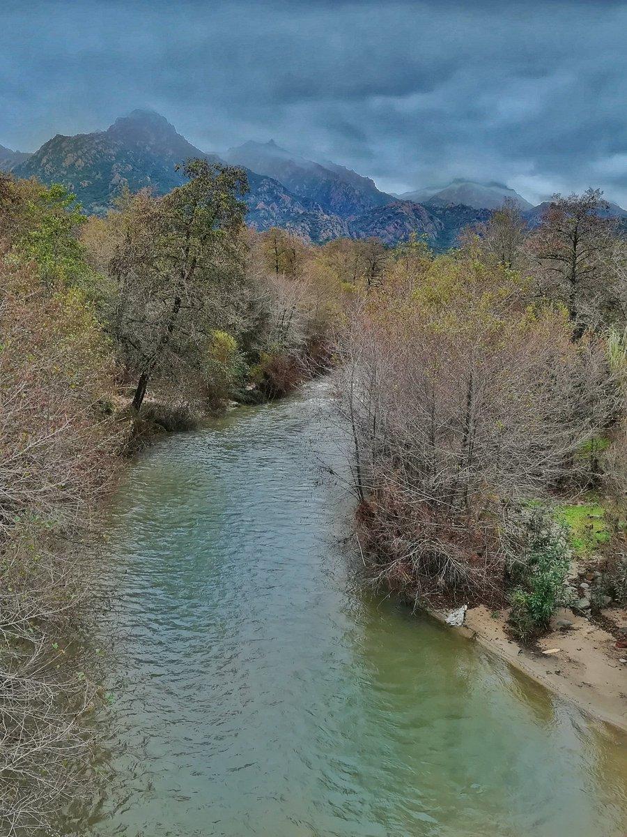 #river #winter #Sardegna #italy #rain