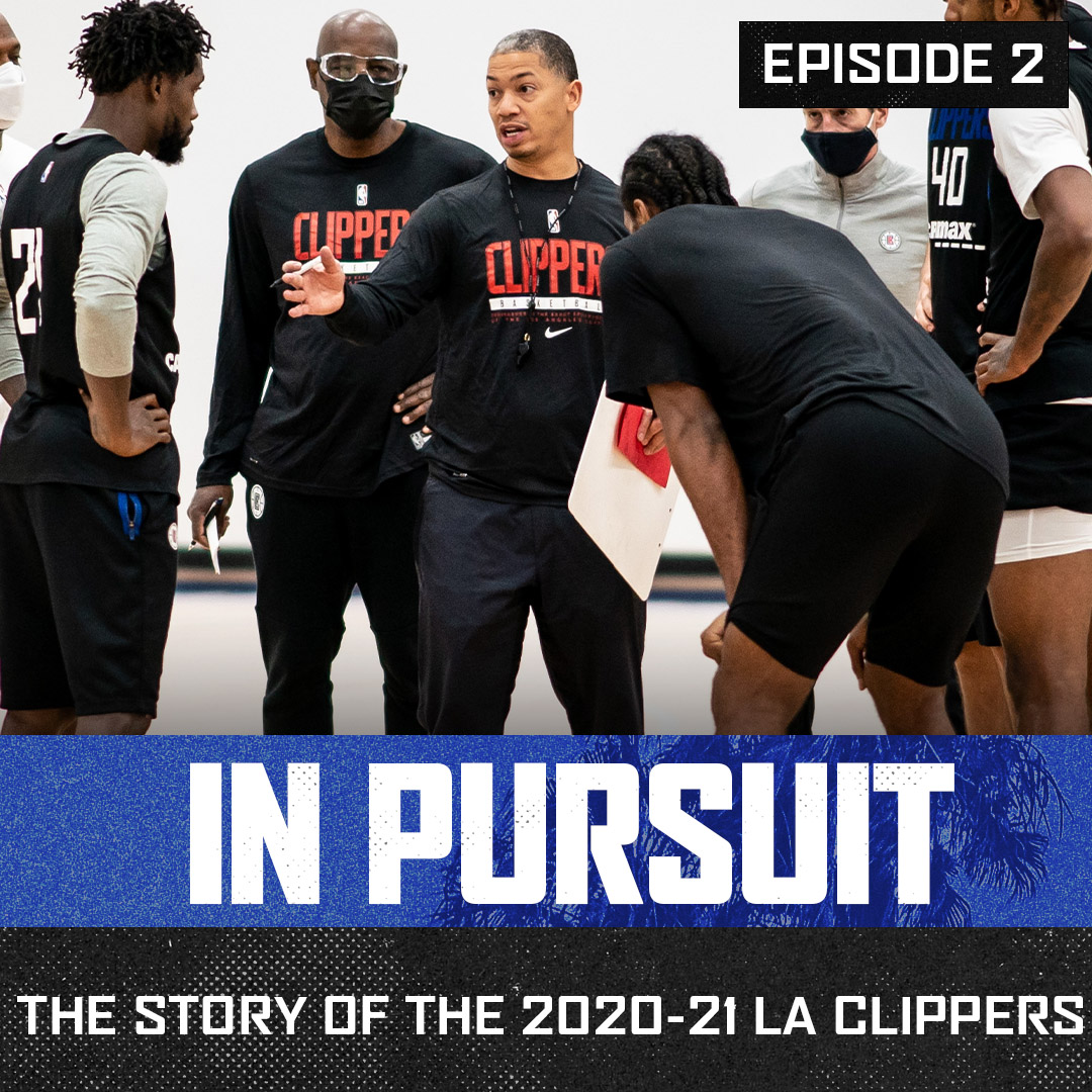 """He can connect. He connects very well with everybody.""  🎥 'In Pursuit', Episode 2 with Ty Lue and the coaching staff."