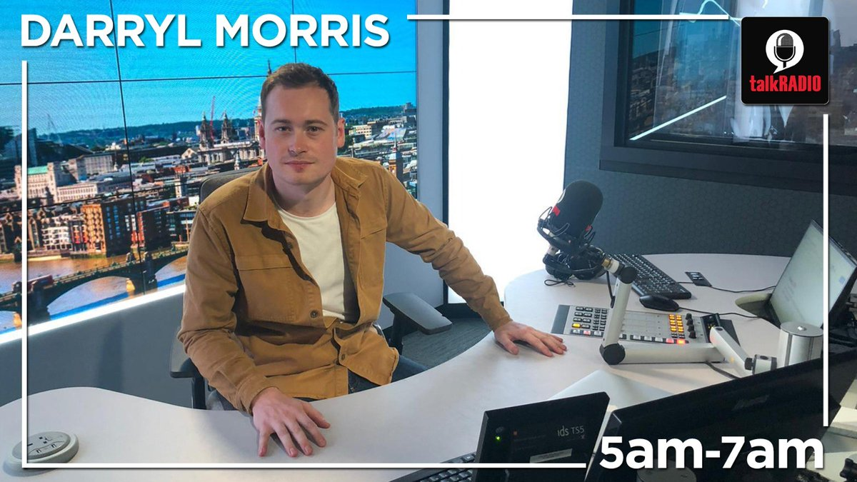 Darryl Morris | 5am - 7am ► How can we encourage people to stick to the rules? ► Are we too optimistic? An expert explains Optimism Bias ► James Bond delay: three films to watch instead Listen live ► talkradio.co.uk/live | @darrylmorris
