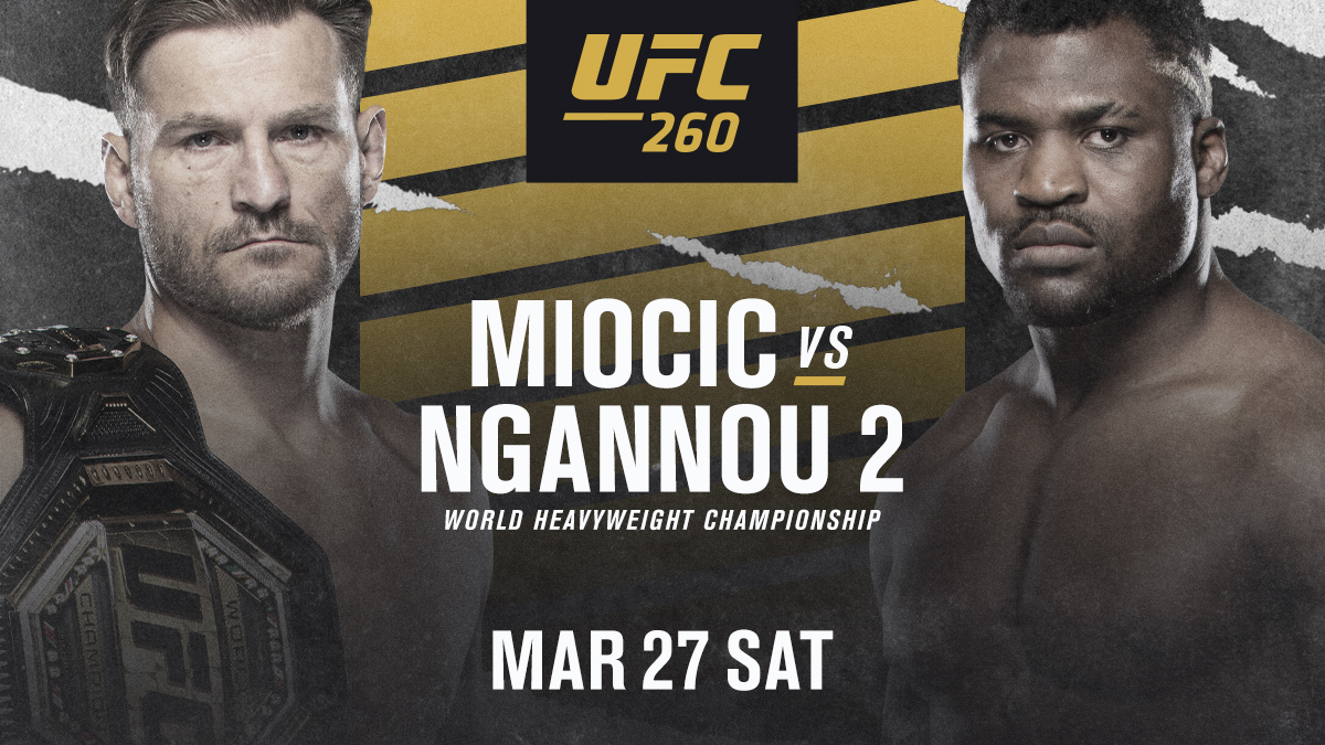 The sequel awaits... #UFC260 https://t.co/Yy69GUquvr