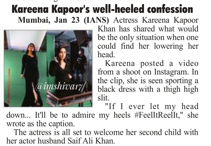#KareenaKapoor 's well-heeled    confession  #KareenaKapoorKhan shared this beautiful happy memory with husband #SaifAliKhan , from their time together in Jaisalmer.