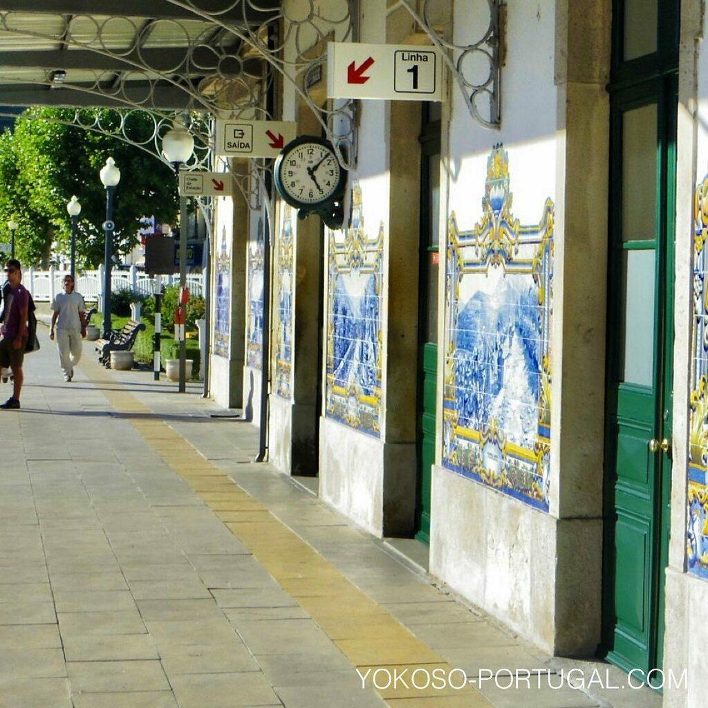 test ツイッターメディア - アズレージョがきれいなピニャオンの小さな駅。ポルトから約1時間、世界遺産のドウロ川沿いを走る路線は景色がよく観光におすすめです。 #ポルトガル https://t.co/w29xDqWQpV
