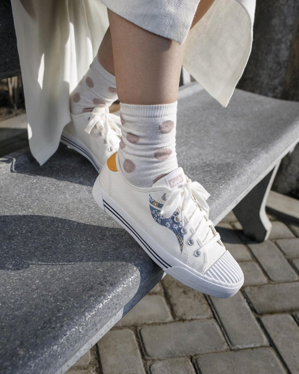 The feeling of sunshine on our feet 🌞 #Kedsstyle  Get the Crew Kick sneakers at Keds stores, online at , or through the Keds Ph Viber community, and our personal shoppers will assist you! Join here: