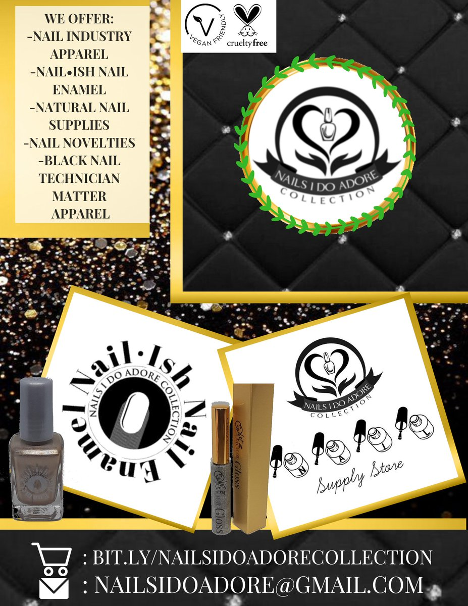 Nails I Do Adore Collection Black Owned Nail Supply Store    #nailsidoadorecollection #blackowned #buyblack #nails #beauty #blackowned #BlackLivesMatter #BlackOwnedBusiness