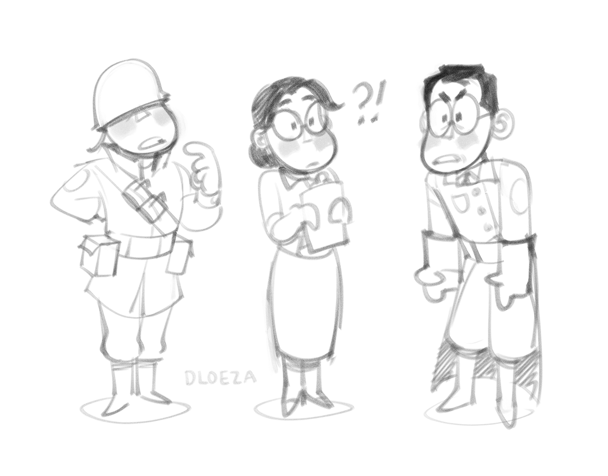 #tf2 quick little cooldown doodles :o