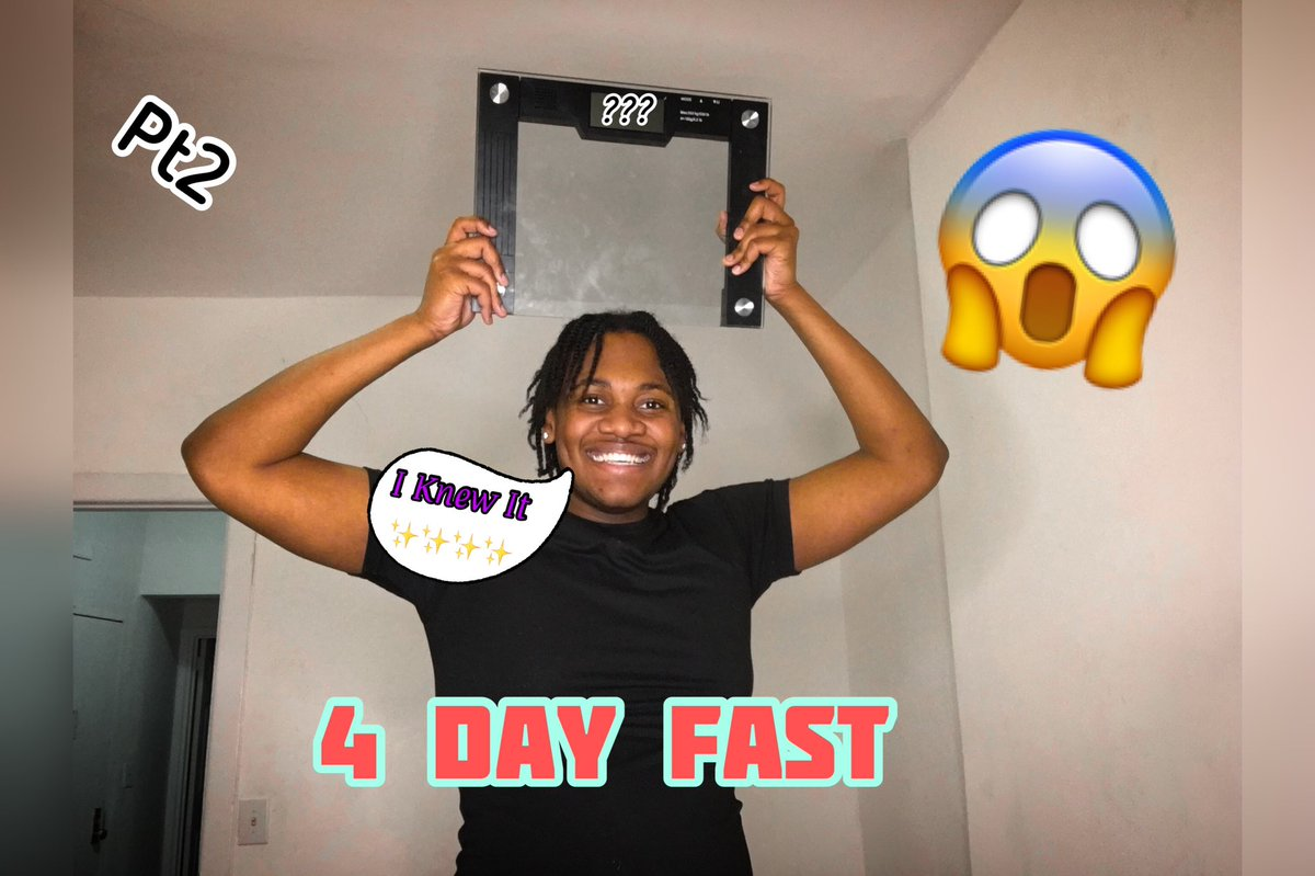 """Video OUT NOW....... """"4 DAY FAST pt2/ I Expected It"""" I Deleted All My Games In 2021💪🏾 Go Check It Out And Subscribe To My YouTube Channel📷📍Link In My Bio.....👀 #Viral #GoingUp #FYP #ForYou #Explore #YouTube #Fasting #4Days"""