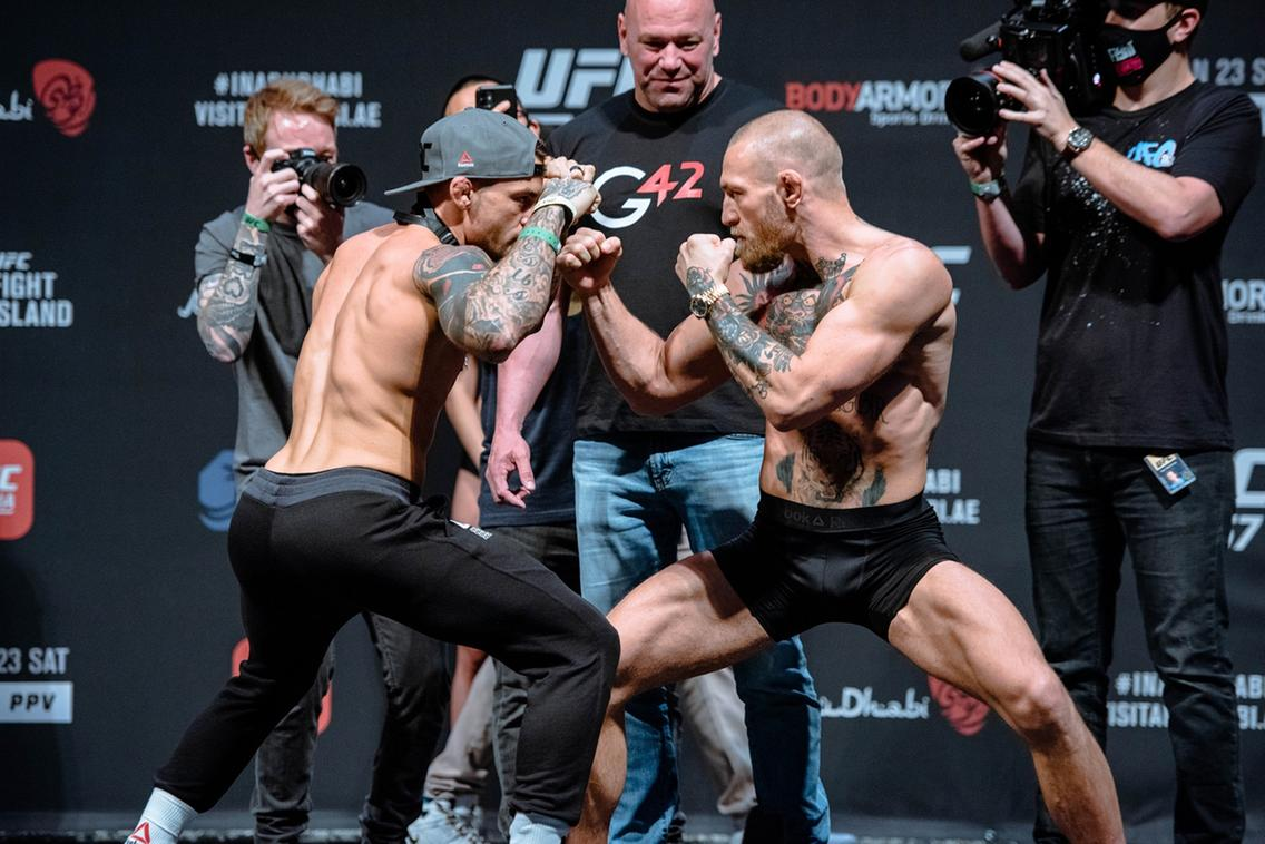 #UFCFightIsland: Both Conor McGregor and Dustin Poirier have arrived and are ready for their rematch. Follow our live blog here:
