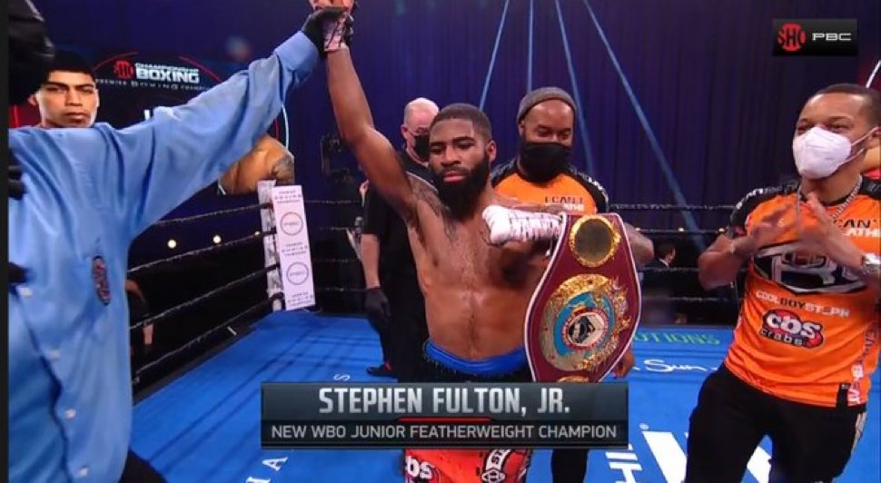 And new !!! Hell of fight by both of those guys.  🥊 🏆#LeoFulton #PBConShowtime