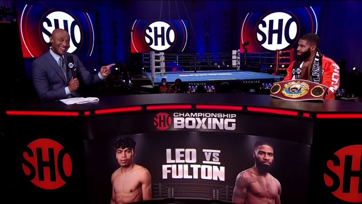 .@coolboysteph's looking for that @FloydMayweather bonus. #LeoFulton