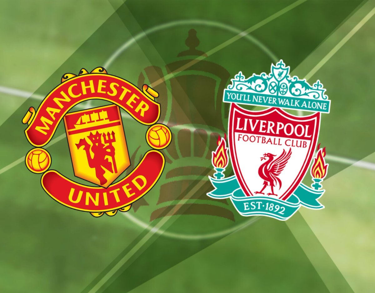 The rivalry continues as United face Liverpool in the FA Cup 4th round at Old Trafford. #MUFC #FACup