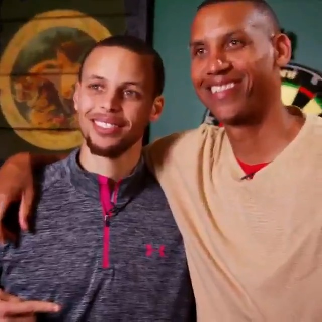 """""""My favorite player growing up was Reggie Miller.""""  With @StephenCurry30 passing @ReggieMillerTNT tonight for 2nd all-time in threes made, take a look at the mutual admiration these two sharpshooters have for each other."""