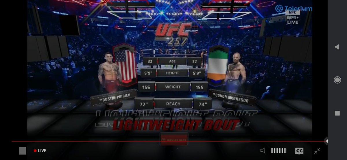 Estoy: NERVIOSO #UFC257