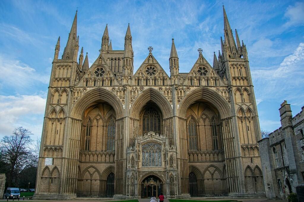 #Peterborough #Cathedral #PeterboroughCathedral #architecture #building #outside #sunny #bluesky #photography #nikond5300 #d5300 #nikon #nikondslr #nikonphoto #nikonphotography #nikonphotograph #nikon_photography #dslr #dslrphotograph #dslrphotography #d…