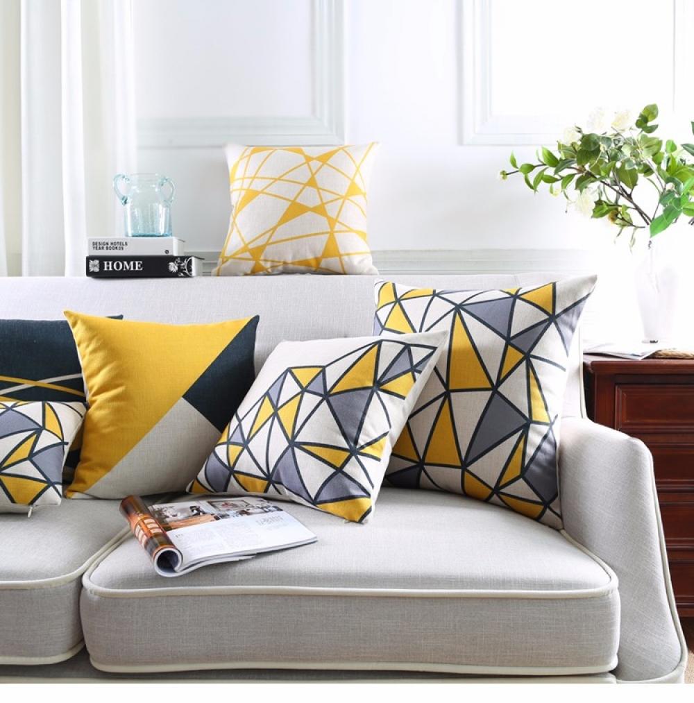 #fun #accs #outside Geometric Style Decorative Cushion Cover