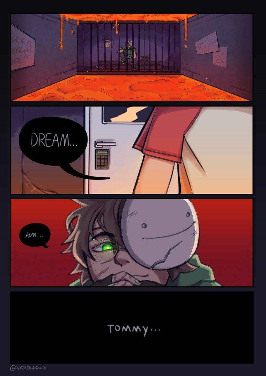 🦀 Dream is in prison crab rave!! 🦀 . . (untag cc in replies) #Tommyinnitfanart #dreamfanart #dreamsmp #dttwt #sleepytwt @Dream__Fanart