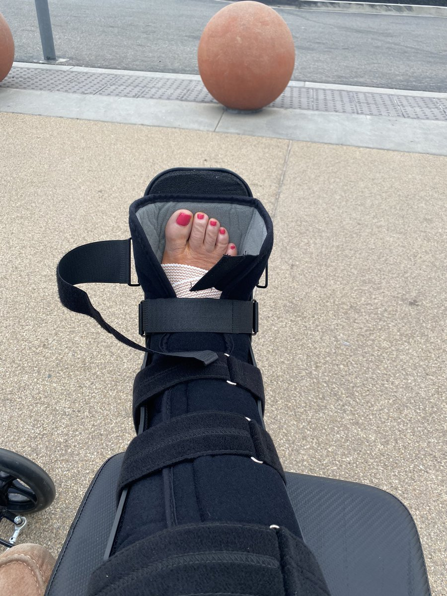 Recovery - one step at a time! #bionicwoman