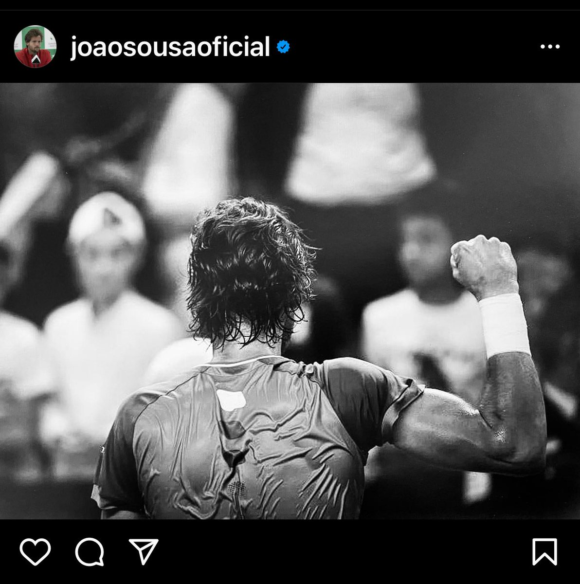 Get well soon @joaosousa30. We look forward to seeing you back in Melbourne in 2022 🎾