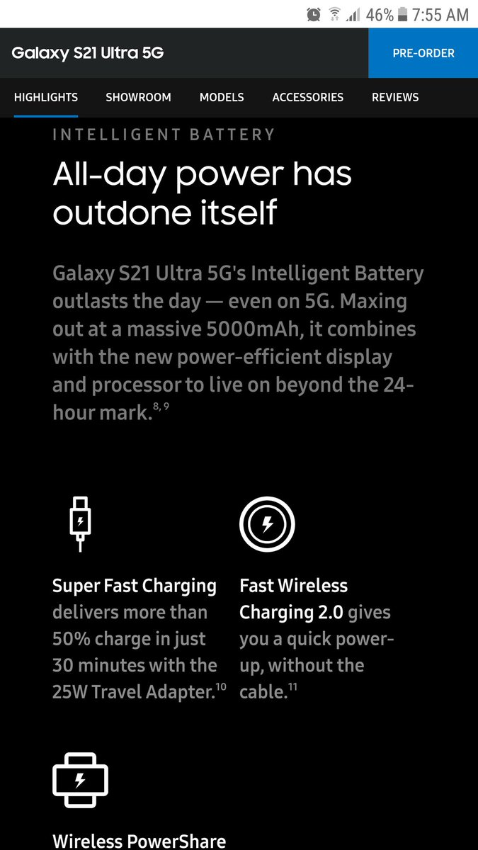 @SamsungMobileSA @947 All day power- fast charging in 30min and with a 5000mAH battery what more do you need #epic #SamsungUnpacked #SamsungS21Ultra #ShowMeTheGalaxyS21 #GalaxyS21