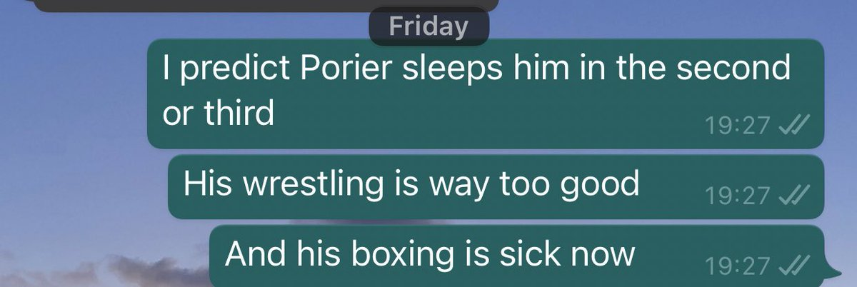 """You can call me Mystic Mac because I predict these things"". You should take your UFC betting advice from me and not casuals on Twitter that have no MMA knowledge lmao. #McGregorPoirier2 #UFC257 #UFCFightIsland"