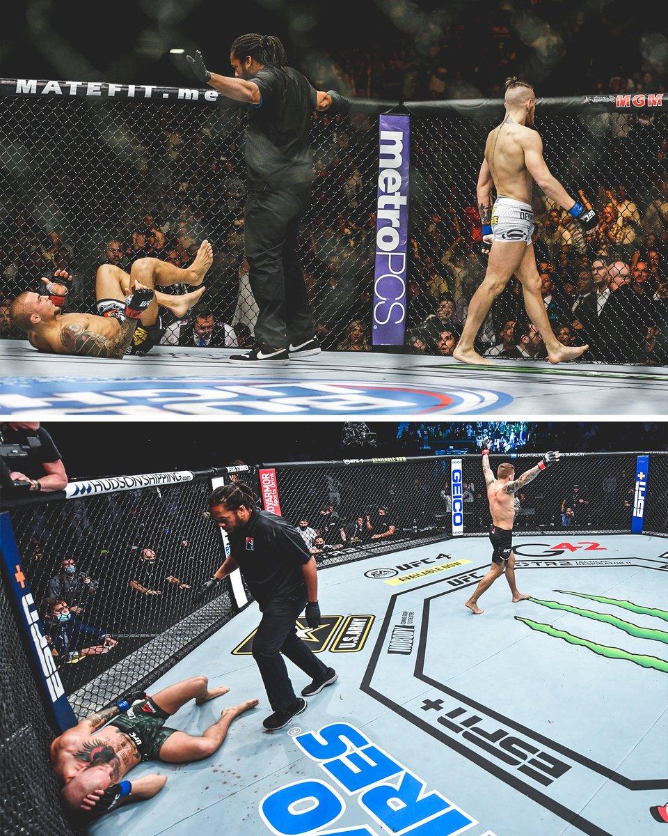2014 ➡️ 2021 #UFC257