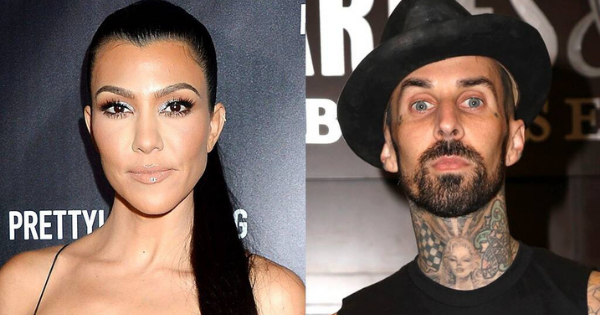 Kourtney Kardashian and Travis Barker Relax at Kris Jenners Palm Springs Home Photo