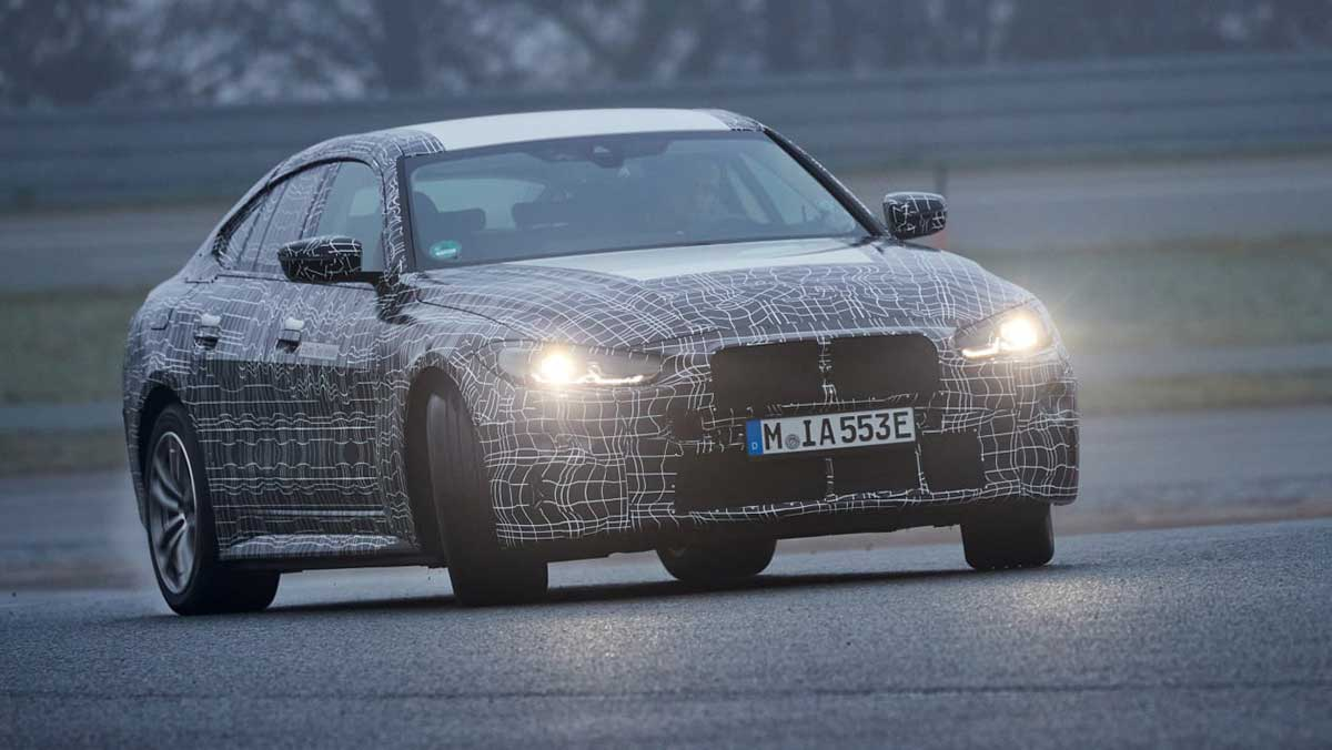 #BMW #i4 to have more power than the #M3 #Competition