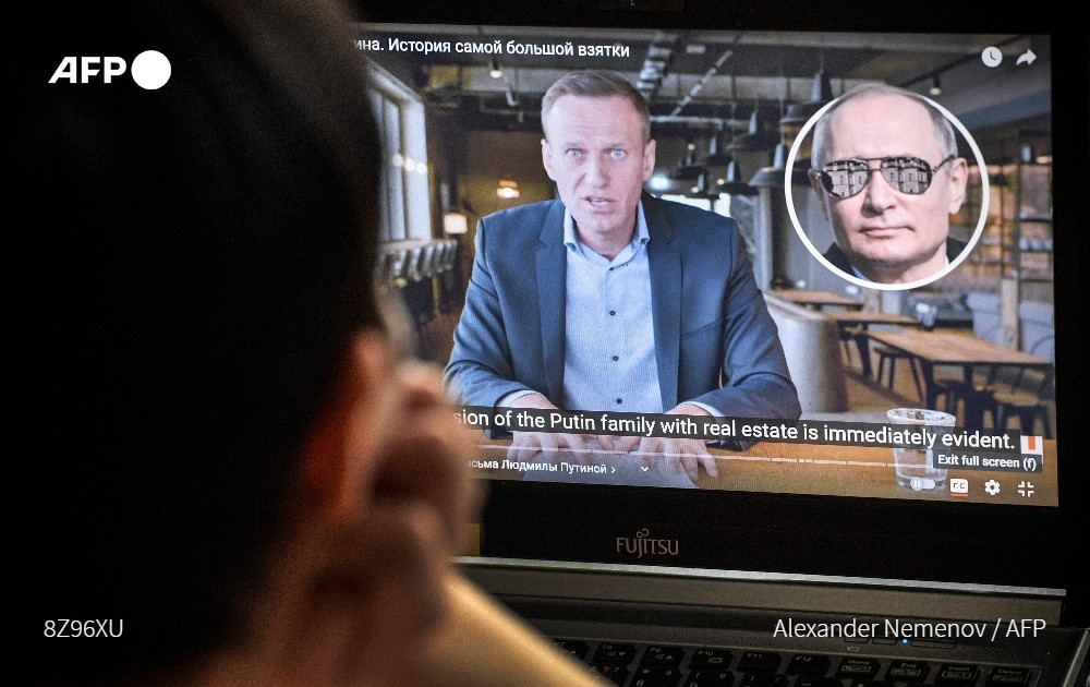 YouTube has become the primary source of news for many young Russians and authorities have ramped up efforts to contain and even replace sites that are seen as a threat u.afp.com/Uw6m