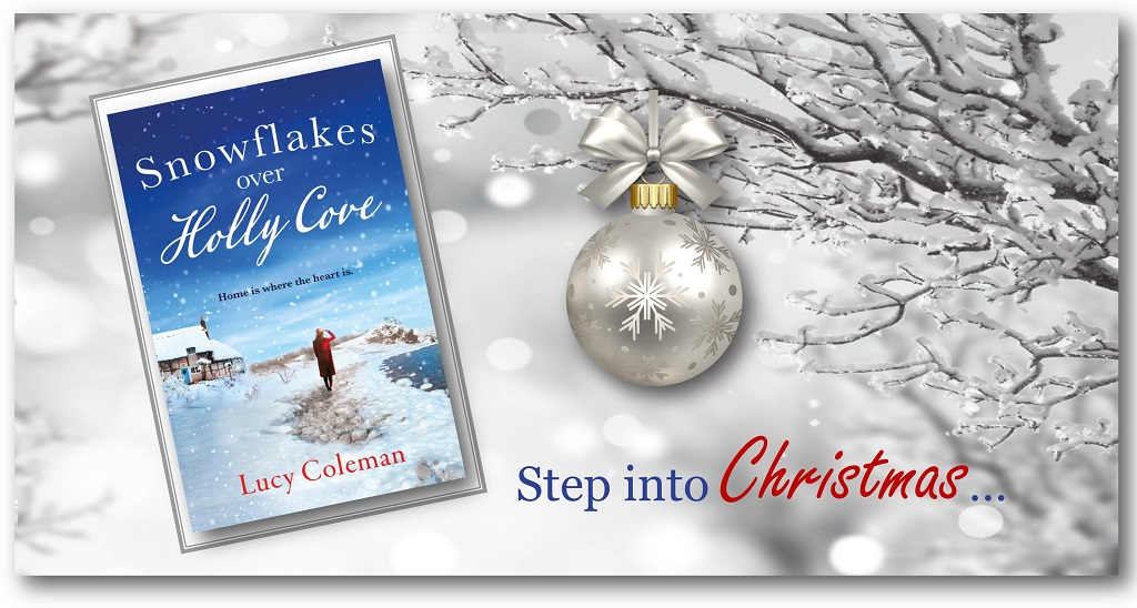 From @LucyColeman and #AriaFiction - #SnowflakesOverHollyCove. The snowflakes are falling and it's time for a small community to come together! #Happiness  🎿 Buy:  Read Chapt. 1: