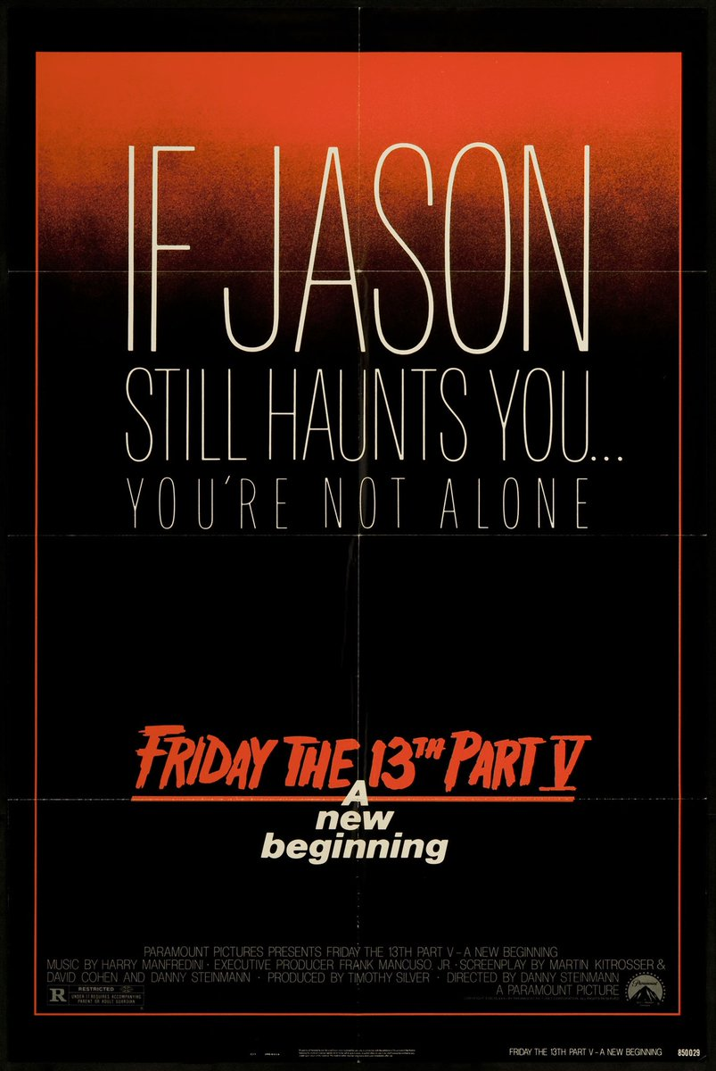 #NowWatching - 🎬 Friday The 13th Part V: A New Beginning   (Back to finishing the franchise)  #FridayThe13th #FridayThe13thPart5