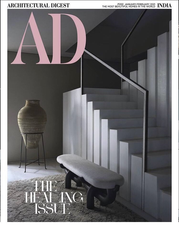 If feels good when your work got published  The healing Issue - Architectural Digest   A project managed to the soul by #RedeemerWorld.   #adindia #cover #newissue #magazine #design #healing #project #deliver #projectcompleted #architecture #interiors #interior #design