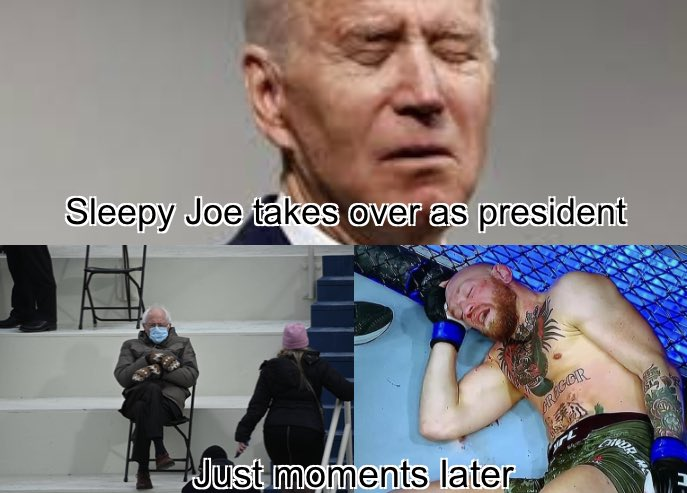 #USA #joebiden #president #bernie #berniesanders #mcgregor #notorious