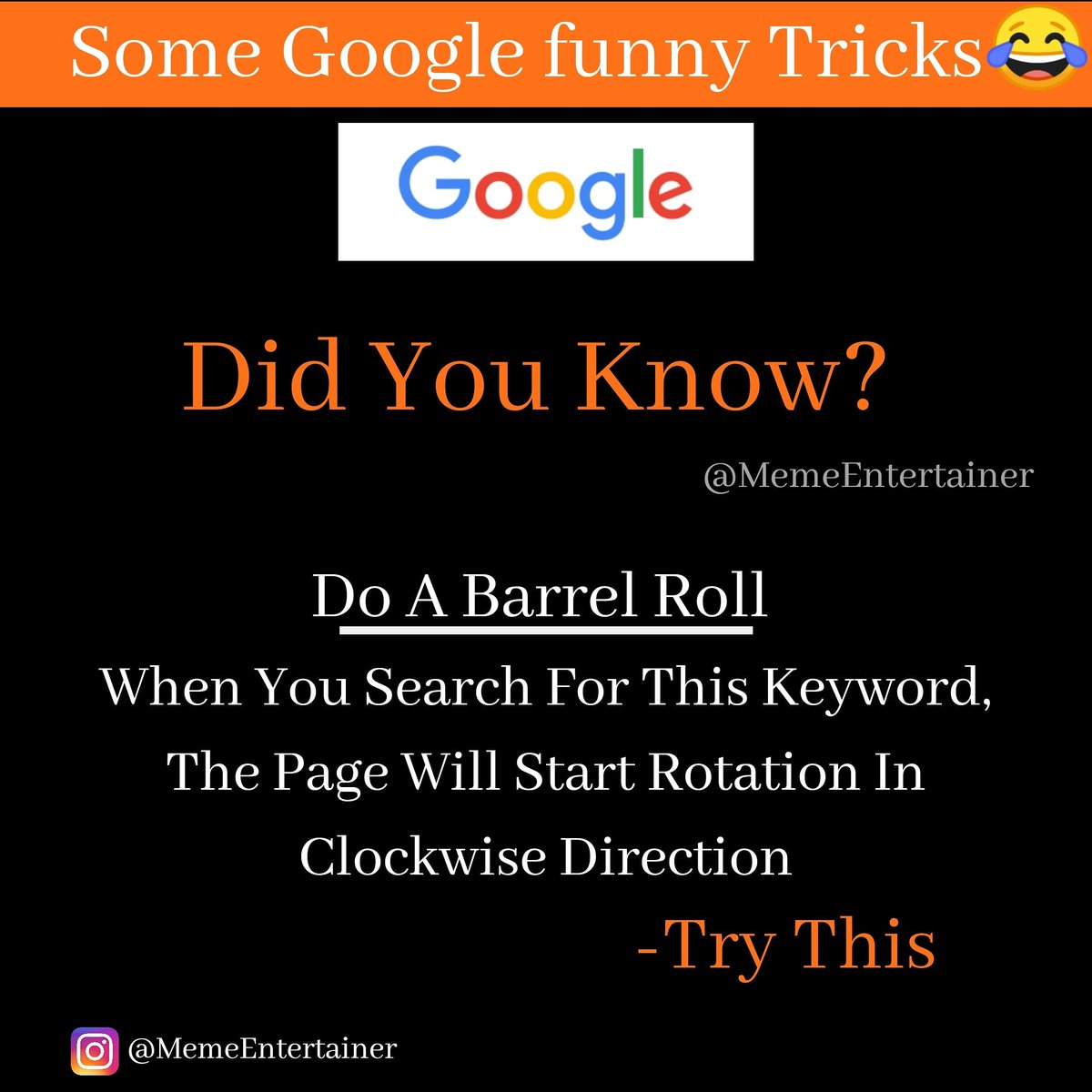 Try this!👈 If it's work Do Like❤& Follow for more👍 #googleplay #googlepixel #googlemaps #agoogleaday #agoogle #googlebusiness #googledrive #googledevelopers #googledocs #googleduo #googleexpress #googleedu #googleexpeditions #rvcjinsta #rvcjmedia Follow if you like ❤