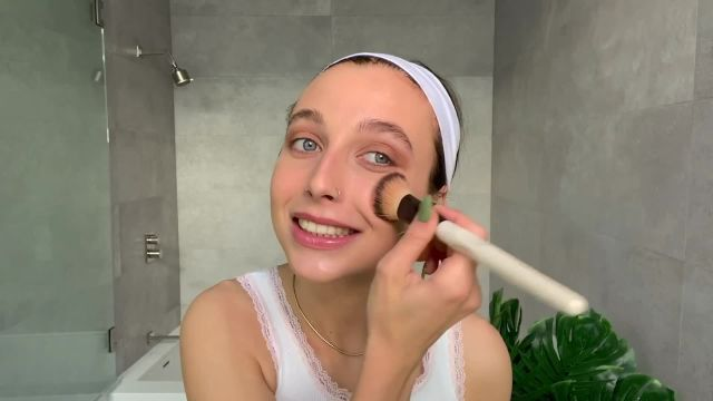 Watch along as Emma Chamberlain shares the #beautysecrets behind her minimal beauty routine